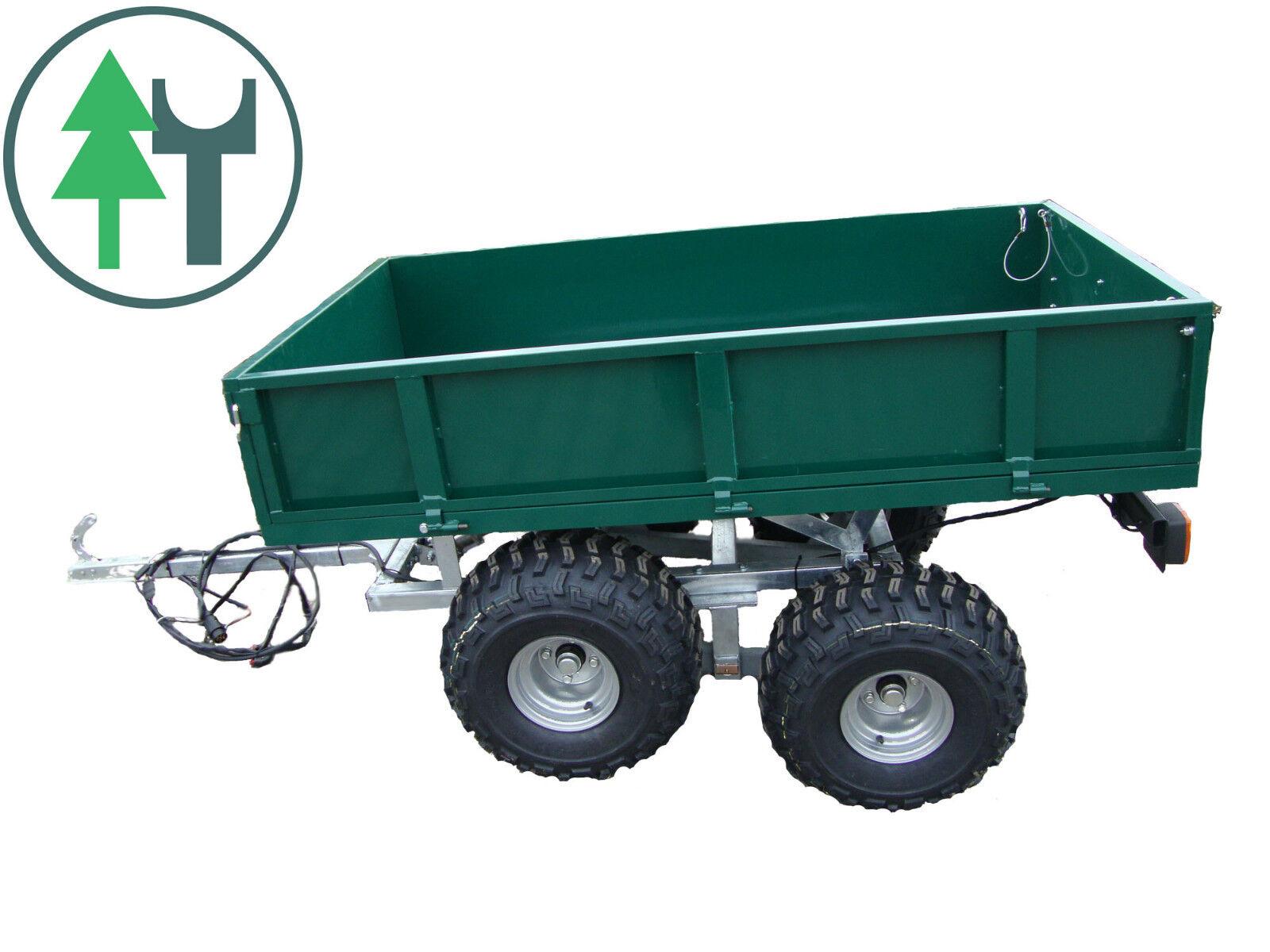 Anhänger Tandem 500T für Traktor Schmalspurschlepper Branson Mitsubishi Kubota | Einfach zu spielen, freies Leben  | Rabatt