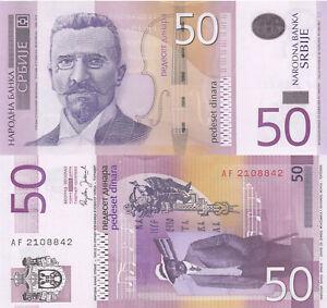 Ships FREE Serbia 2011 10 /& 20 Dinara Crisp Uncirculated Banknotes P46 /& P55A
