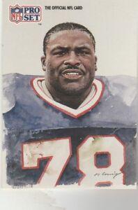 FREE-SHIPPING-MINT-1991-Pro-Set-417-Bruce-Smith-Buffalo-Bills-ALL-AFC-TEAM