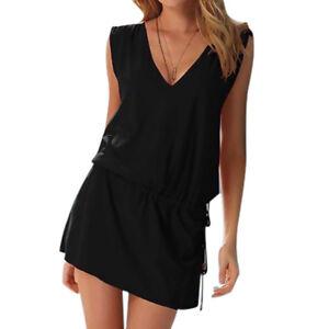 33a6efac82d3d UK Women Beach Dress Cover Up Kaftan Sarong Summer Wear Swimwear ...