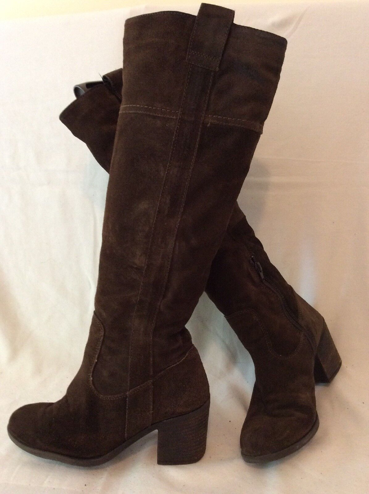 Aldo Brown Knee High Suede Boots Size 38