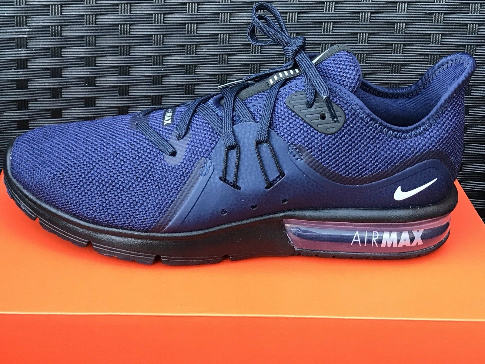 Nike Air Max Sequent 3   Uomo Eur Schuhes Trainers Uk 8.5 Eur Uomo 43 5ea419