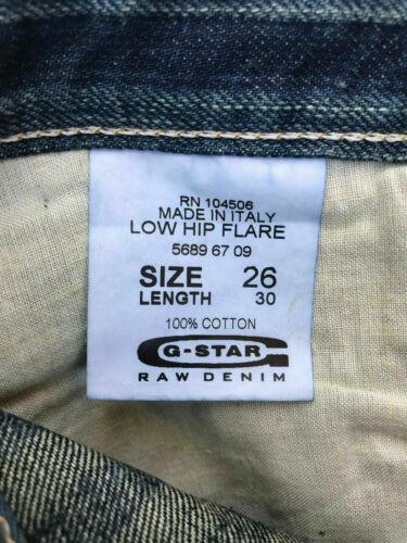 star L30 Rrp Laser 'Low 289 Au8 Hip W26 Jeans G Xs Flare' Kvinder Denim dw8Pq4ApE