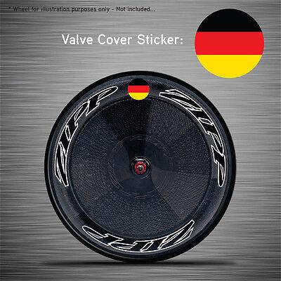 VCS002 6x Union Jack Disc Wheel Valve Covers//Patches Zipp Hed Corima FFWD