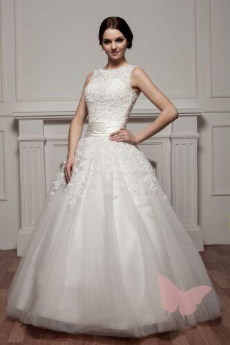 Full Length PROM//BALL//WEDDING Dress Bridal GOWN SIZE6,8,10,12,14,16 WDH2-031