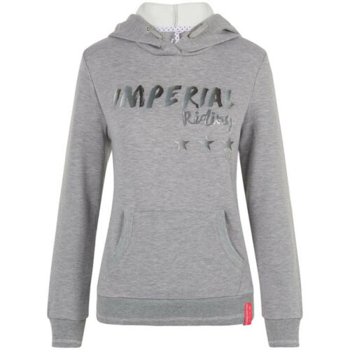 Imperial Riding Femmes Hoodie Sweater Royal capuche broderies paillettes