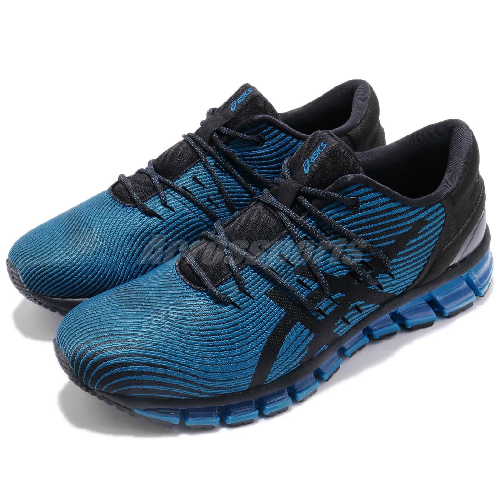 Asics Gel-Quantum 360 4 Race azul negro Men Running zapatos zapatillas 1021A028-400