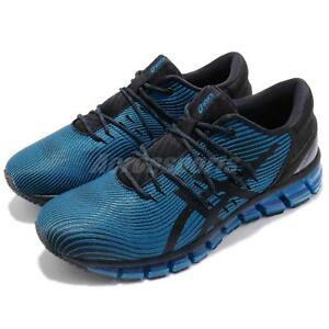 065150a3093 Asics Gel-Quantum 360 4 Race Blue Black Men Running Shoes Sneakers ...