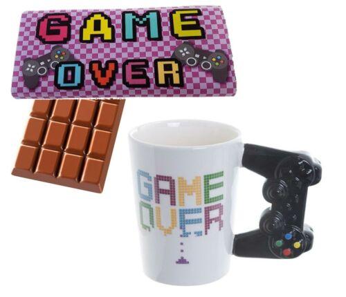 Game Over Milch Schokoladenriegel Keramik Tasse Neuheit Geschenk Gamer