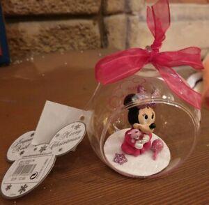 BOULE-1ER-First-Noel-MINNIE-Disneyland-Paris