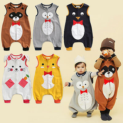 "Sweet-Tempered Vaenait Baby Kids Boys Girls Clothes Blanket Sleep Sack ""sleeping Tie Set"" 1-7t"