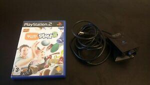 Sony-PlayStation-2-PS2-Eye-Toy-Camera-Eye-Toy-Play-Game