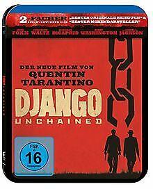 Django-Unchained-Limited-Steelbook-Edition-Blu-ray-vo-DVD-Zustand-gut
