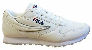 Fila ORBITE BASSE Baskets Homme Blanc à Lacets Chaussures De Loisirs 1010263 1FG