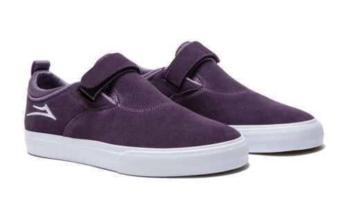 Lakai Skateboard Shoes Riley 2 VS Purple Suede Mens