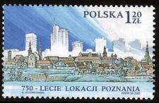 POLAND MNH 2003 The 750th Anniversary of Poznan Location