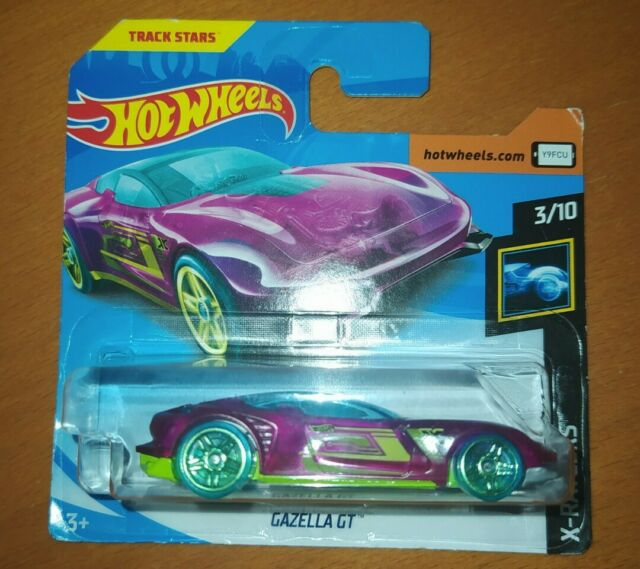 HOT WHEELS 2019 - GAZELLA GT - X-RAYCERS 3/10