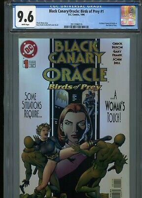 Black Canary Oracle Birds Of Prey 1 Cgc 9 6 Wp Ebay