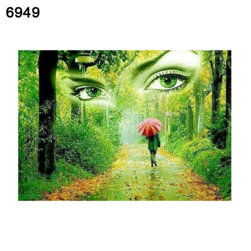 AM/_ LANDSCAPE DIY OIL PAINTING BY NUMBER UNFRAMED WALL ART HOME OFFICE DECOR ORN