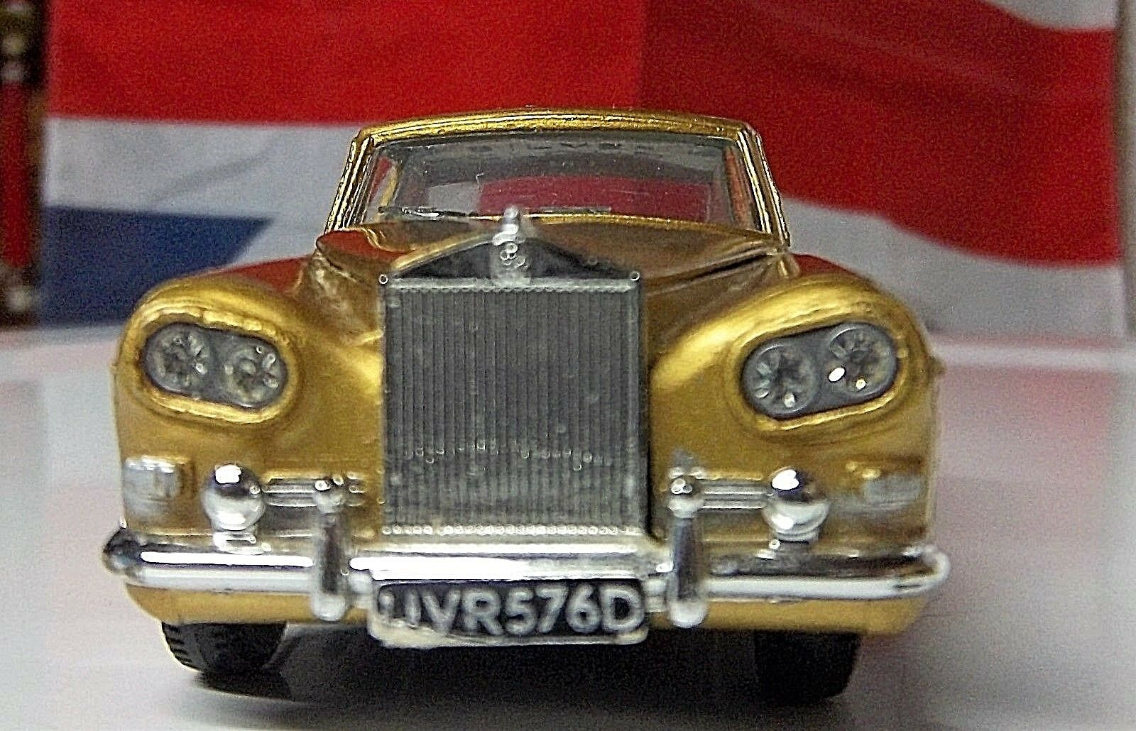 Gold ROLLS ROYCE Silber CLOUD METALLIC from England Original Dinky Rolls Royce