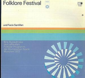 Eine Auswahl Aus Dem Offiziellen Folklore-Programm Der Olympischen Spiele 1972