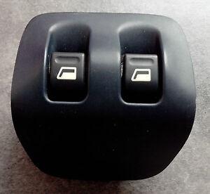 Bouton interrupteur commande electrique leve vitre arriere G et D Peugeot 206