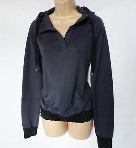 MusclePharm Womens Pullover Hoodie Jumper Hooded Hoody Tracksuit Top 41/% OFF RRP