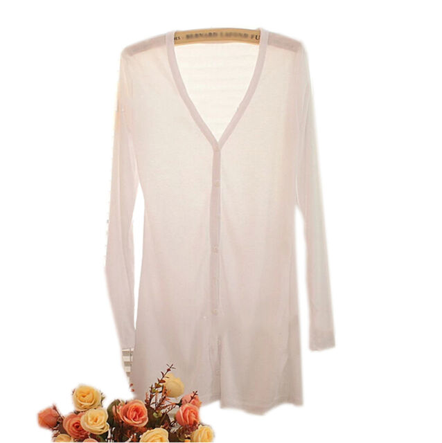 Exquisite Women Girls Knitwear Cardigan Shirt Coat Sweater Jumper Outwear CBAU