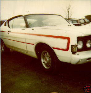 Details about 1969 FORD FAIRLANE TORINO GT C STRIPE KIT REFLECTIVE