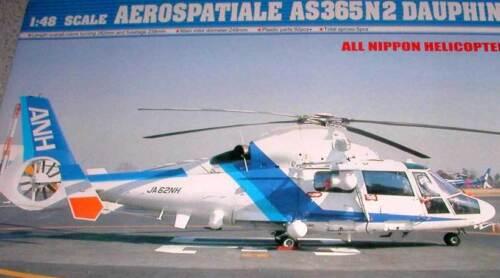 1:48 Neuf Kit Aerospatiale As 365 N2 AS365N2 Dauphin Modèle-kit Trumpeter