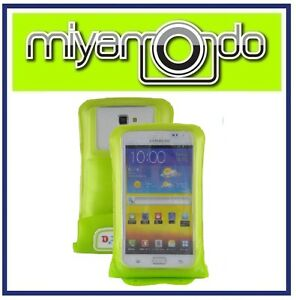 DiCAPac-WP-C2-Green-Waterproof-Case-for-Samsung-Galaxy-Note-II-S3