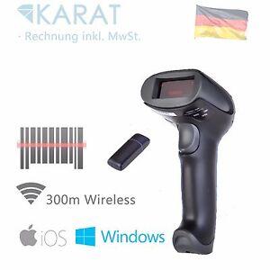 100m Wireless USB Laser Barcode Scanner Lesegerät Handscanner 1524
