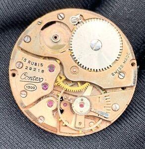 Contex-Cal-1300-Main-Manuel-Vintage-29-3-mm-Swiss-Pas-Fonctionne-pour-Pieces