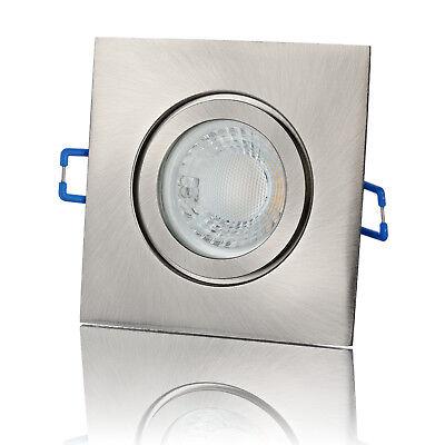 Obligatorisch Led Einbaustrahler 230v Dimmbar - Deckenspot Bad Feuchtraum Strahler - Lambado®