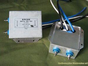 Filtro Rete monofase 50A  AC/DC