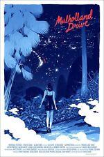 Mulholland Drive Mondo Art Print Movie Poster Sam Bosma David Lynch Twin Peaks