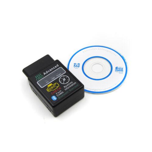 ELM327 V2.1 Bluetooth ODB2 Advanced Bluetooth Car Diagnostic Scanner Tool