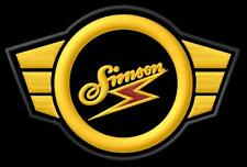 SIMSON logo SR1 SR2 SR4 SR50 S50 SR80 Spatz Star Sperber iron-on Aufnäher patch