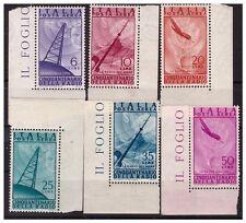 ITALIA 1947 - RADIO POSTA AEREA SERIE  NUOVA  ** ADF