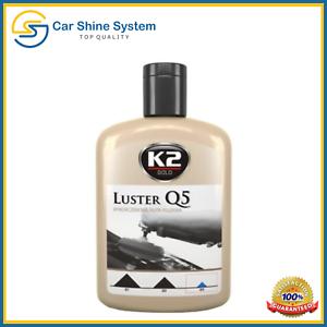 K2-Oro-Brillo-Q5-compuesto-de-corte-fino-acrilico-pintura-de-coche-de-pulido-no-Remolinos-Brillo
