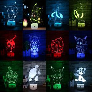 Pokemon-Charizard-Pikachu-Mewtwo-3D-Lamp-Acrylic-LED-Night-Light-Lamp-Xmas-Gifts