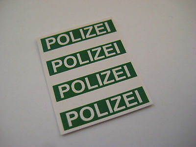 Corgi 412  Police Mercedes Benz Stickers B2G1F
