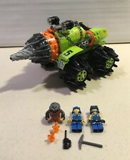 Lego 8960 Power Miners Thunder Driller 2009 Set Complete w/ Mini Figures