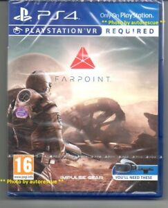 Farpoint-VR-PS-VR-REQUIRED-039-New-amp-Sealed-039-PS4-Four