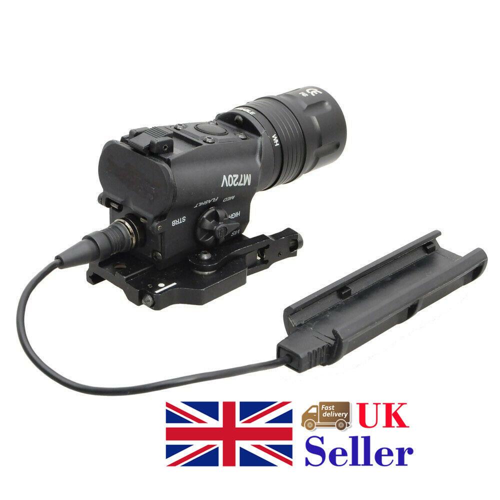 Element Tactical M720V Mounted Light Rifle Gun LED Strobe Version Schwarz UK