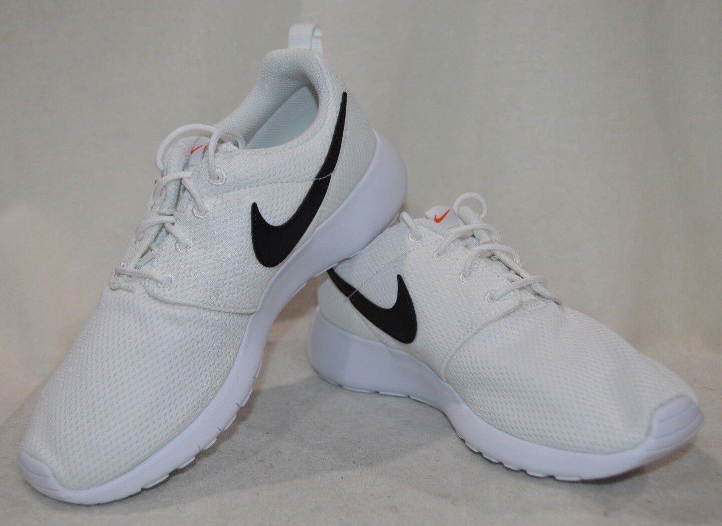 Nike Roshe One (GS) White/Black/Orange