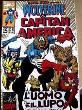 Wolverine & Capitan America - Marvel Extra n°15 1995 ed. Marvel Italia   [SP7]