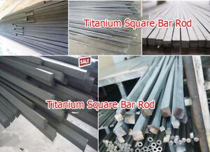 1-10x Titanium Ti Grade 2//5 Metal Shaft Bar Round Rod Wire Stick 2//3//4//10mm