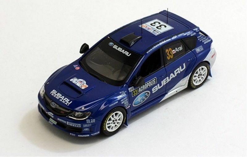 J-Collection 2009 Subaru Impreza PWRC T. Arai 1 43 Modelo de Metal Fundido Nuevo JC195