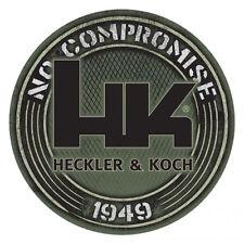 """HK Green Decal 1949, Heckler & Koch """"No Compromise"""" HK416 MR556 MR762 P30 USP"""